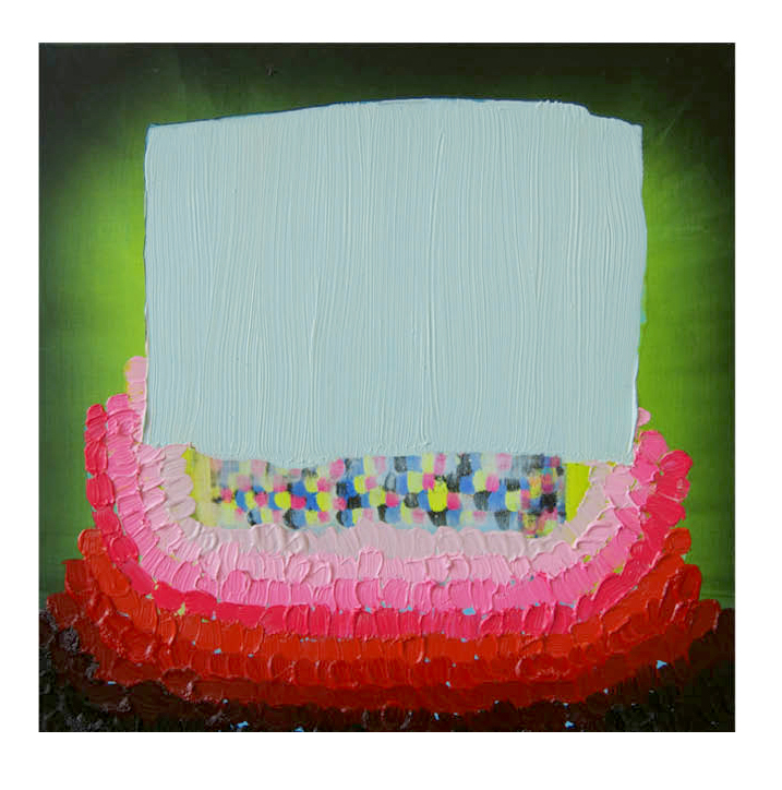 "CMYK BLANKET (1), 12"" x 12"", 2011"