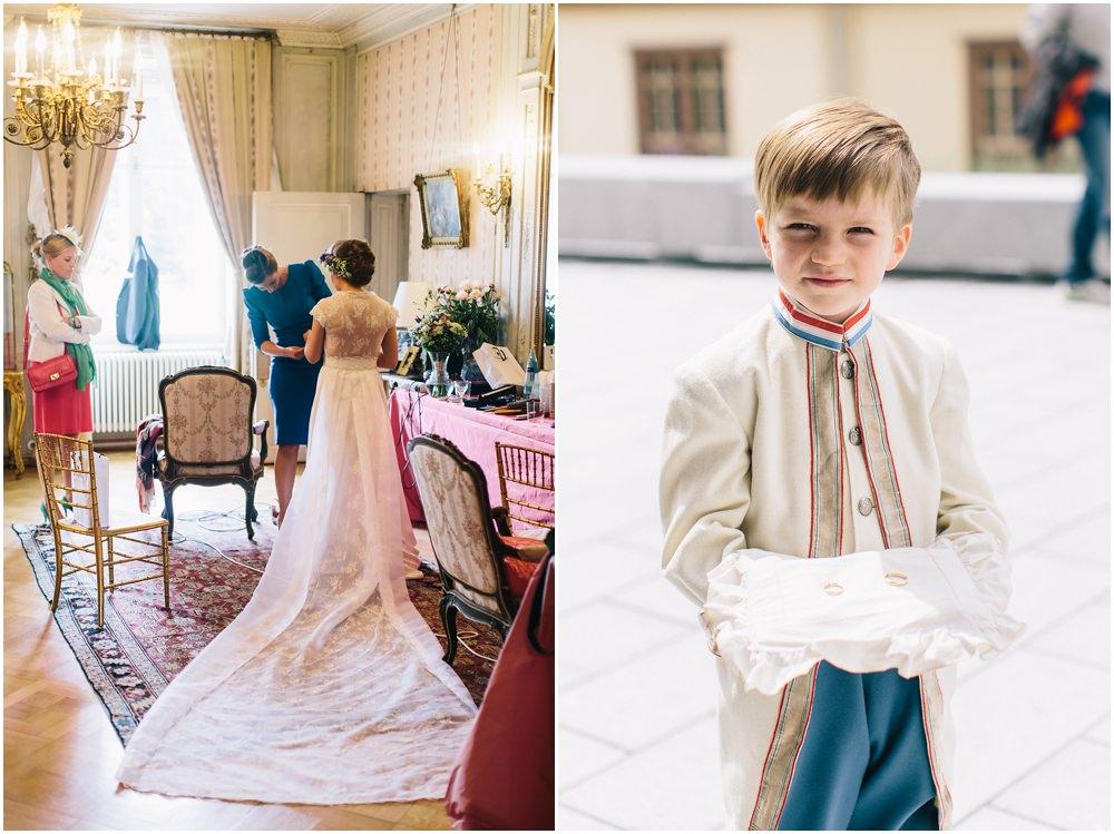 Braut und Brautringe