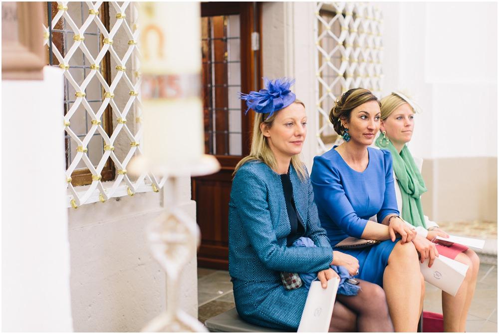 Brautjungfern in Blau