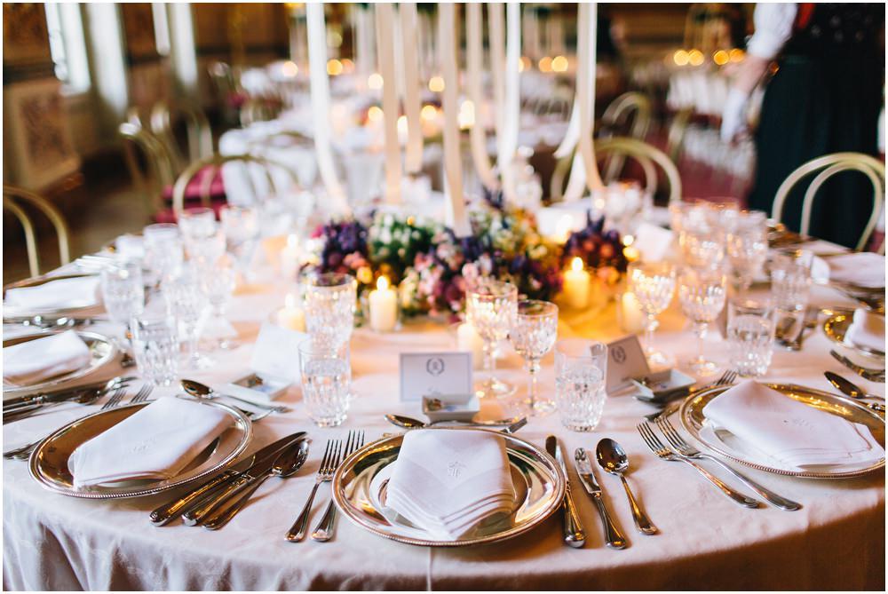 Detailfoto Hochzeitstisch