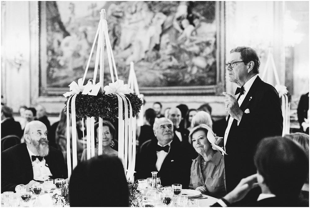 Brautvater hält eine Rede
