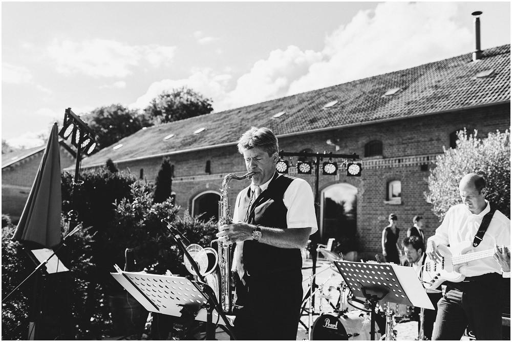 Band spielt auf Hochzeit