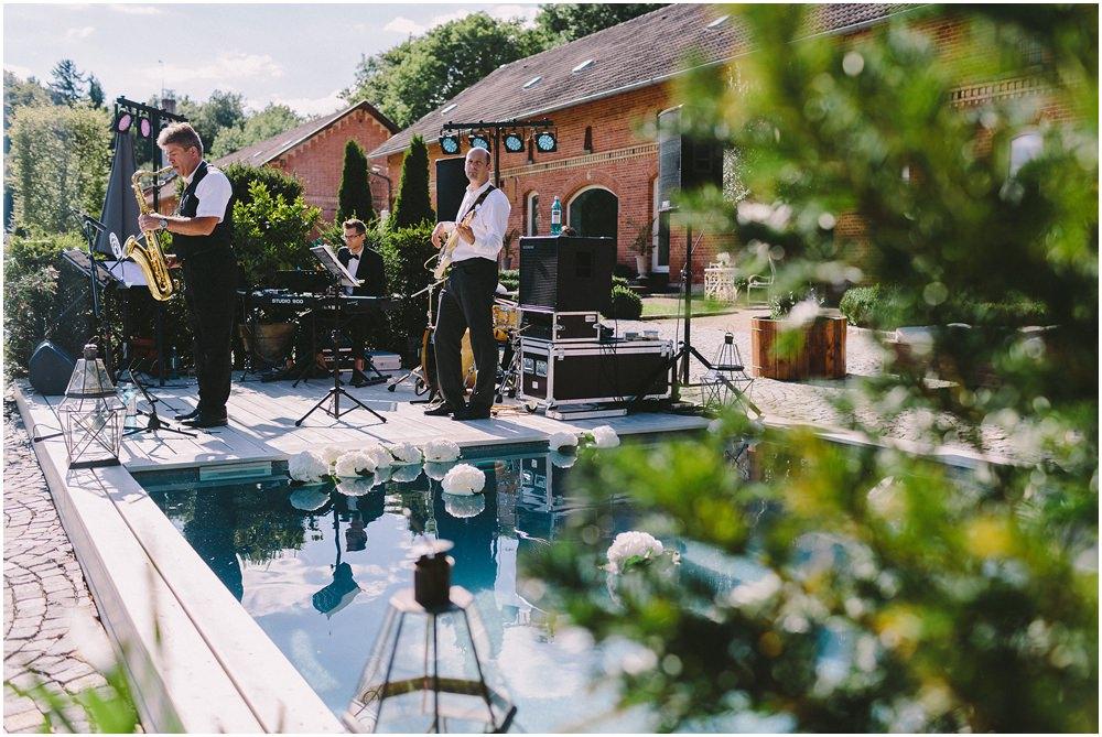 Band auf Hochzeit
