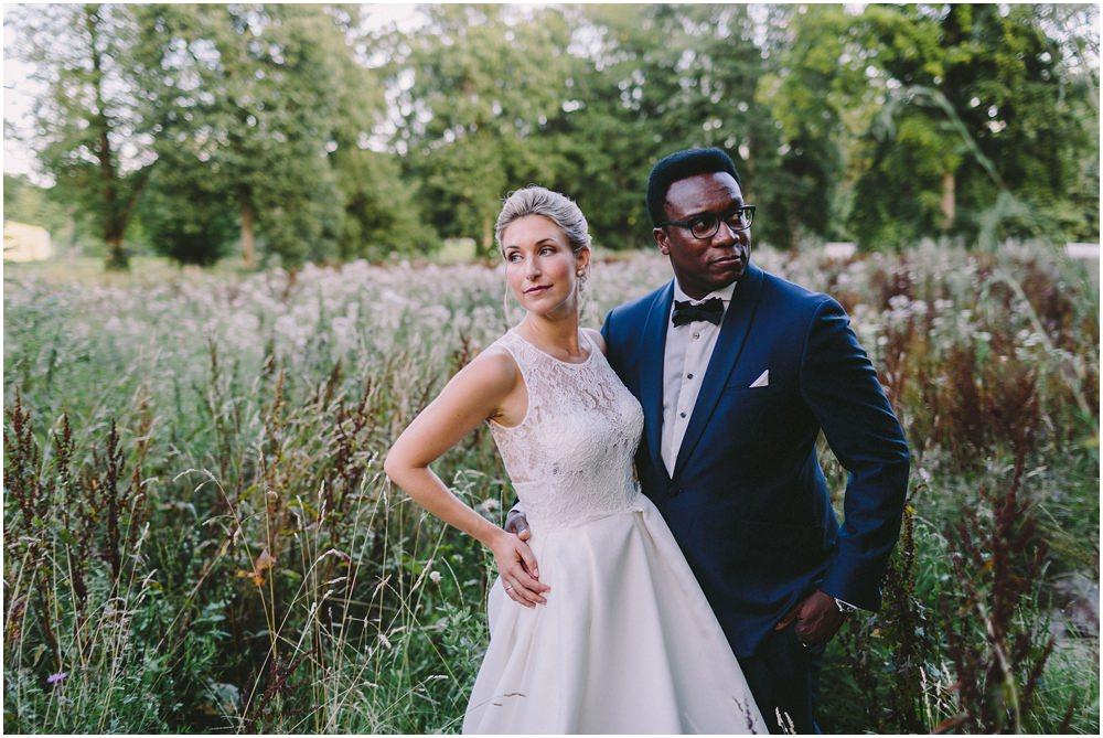 Porträt von Braut und Bräutigam