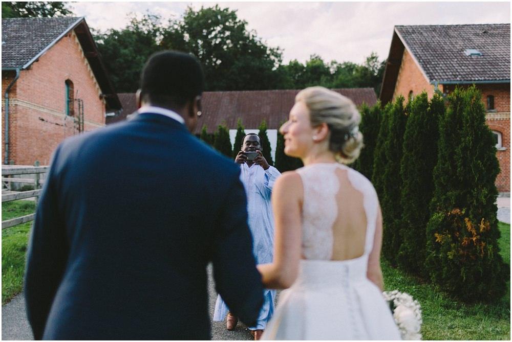 Foto von Braut und Bräutigam