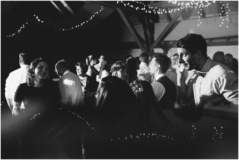 Unterhaltung bei der Hochzeit