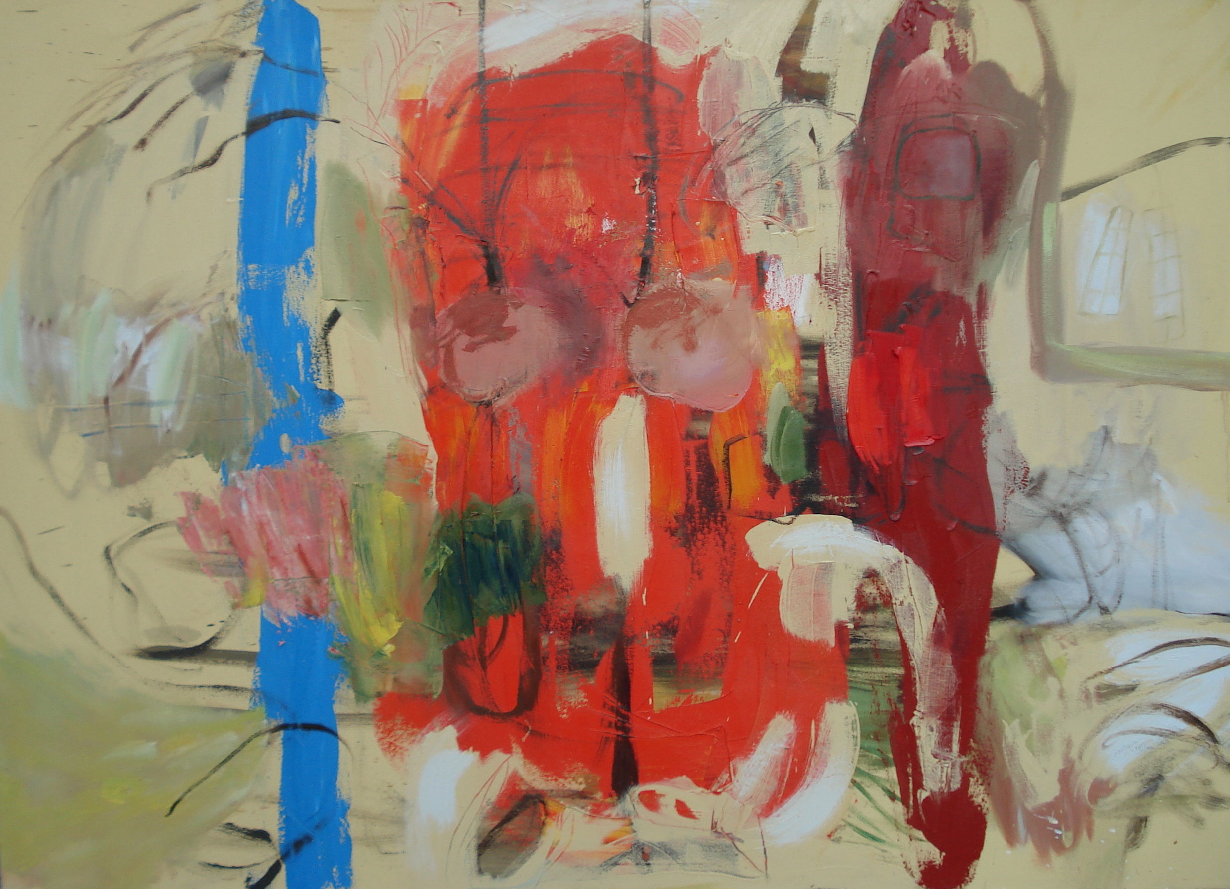 """Just Like a Woman , 46""""H X 64""""W (2008)"""