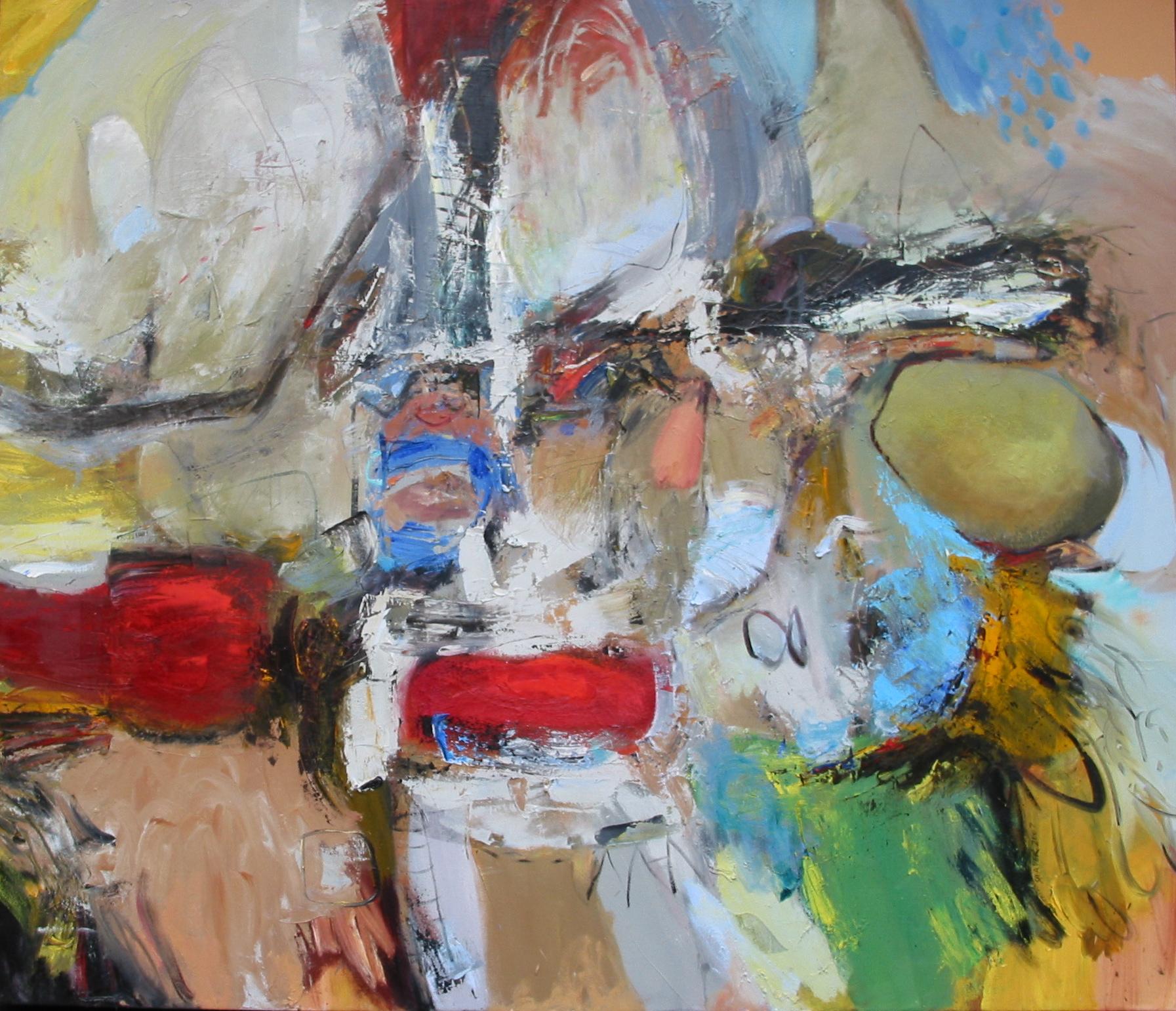 """Full Crumb,  oil on canvas 63""""H X 72""""W (2007)"""