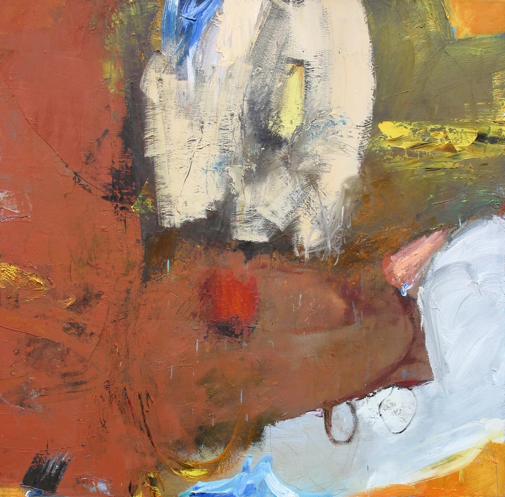 """School , oil on canvas, 46""""H X 50""""W, 2007"""