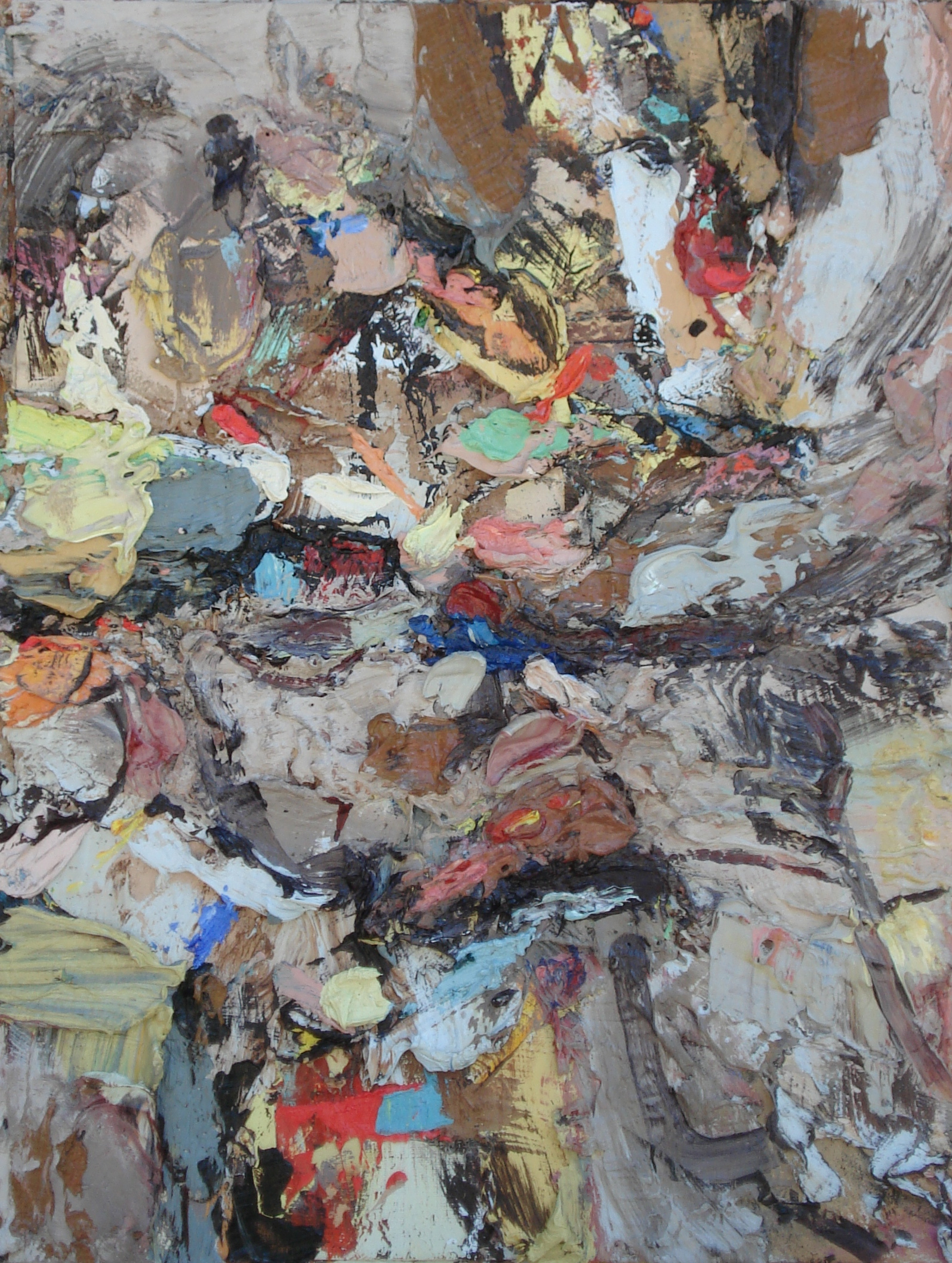 """Ecosystem,  oil on paper 16""""H X 12""""W, 2014"""
