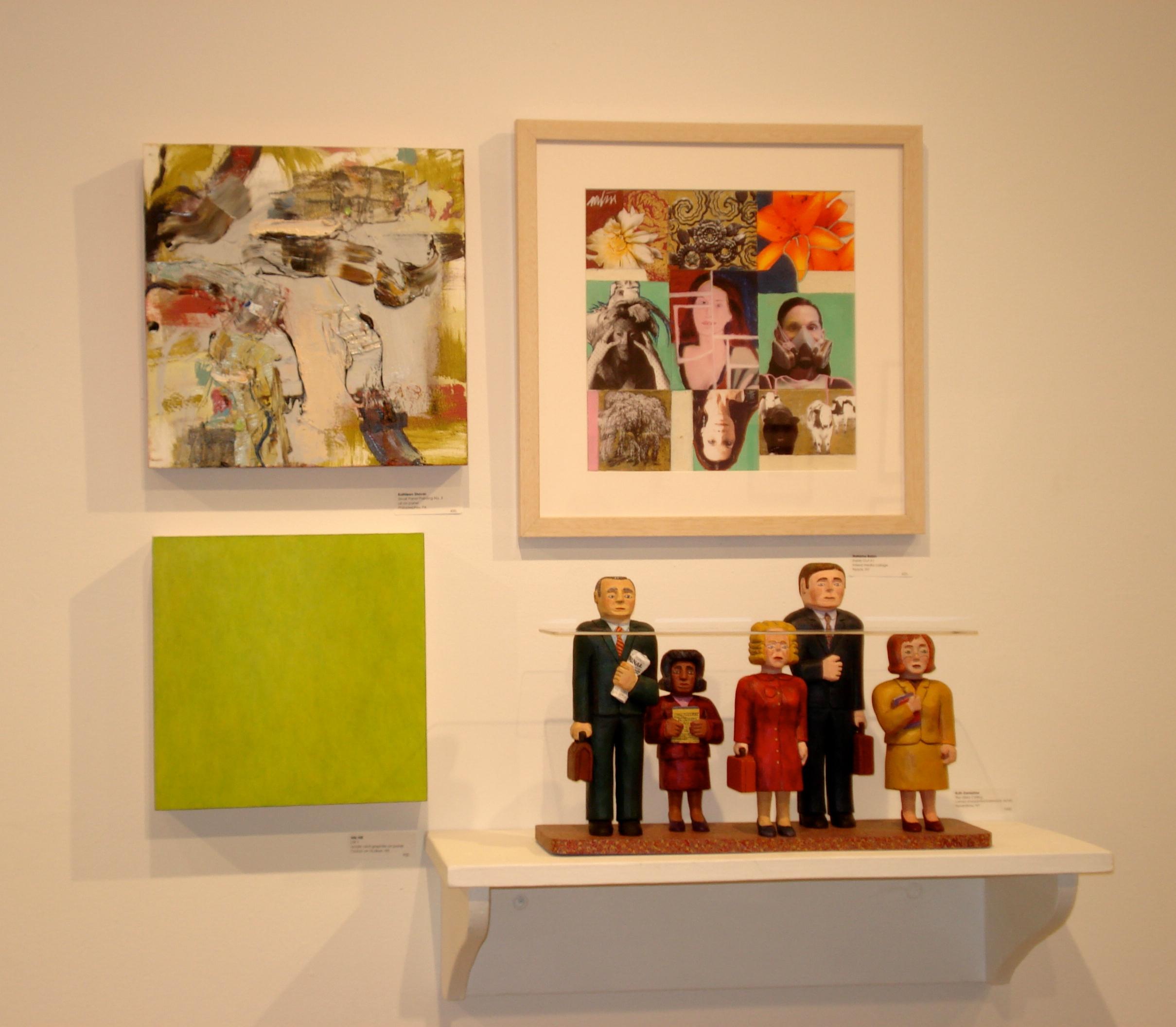 Small Works Show, Garrison Art Center, Garrison, NY, 2014