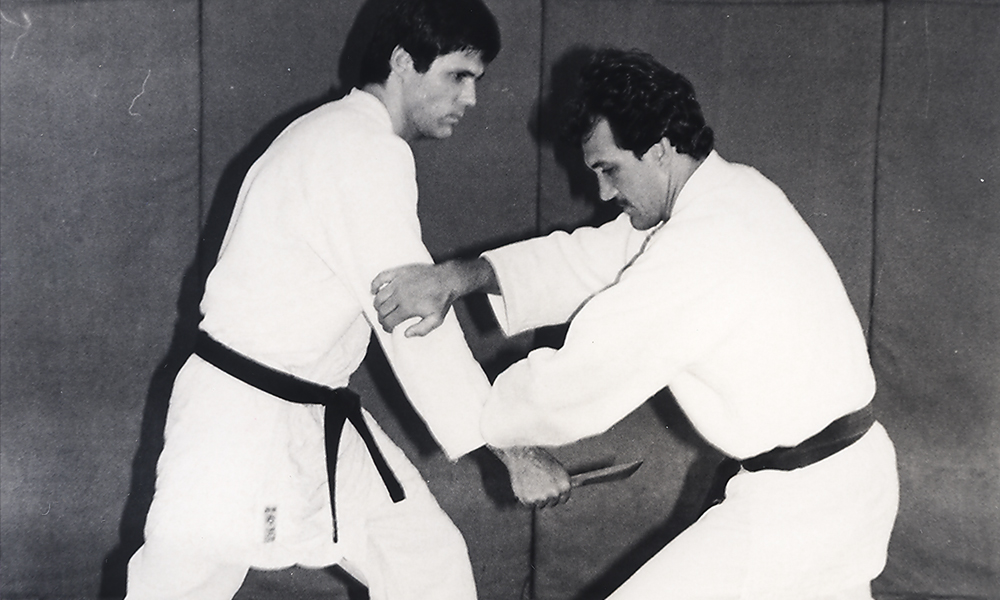 Rolls Gracie and Mauricio Gomes