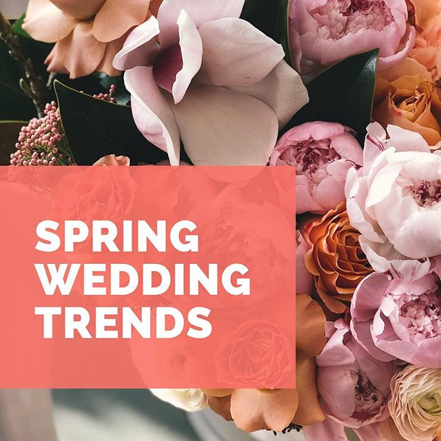 Spring is here and what better way to celebrate than to talk about our favorite wedding trends! Check out the blog to read more. Link in bio —  @a2zweddings_tx . . . #springweddingtrends #2019weddings #springweddings #weddingboquet #weddingdecore #weddingfilm #weddingcolors2019 #weddingcolors #lovevideo #weddingday #weddinginspo #weddinginspiration #weddingideas #weddingideas_brides #weddings #weddingdesign #weddingfilmmaker  #lovewins