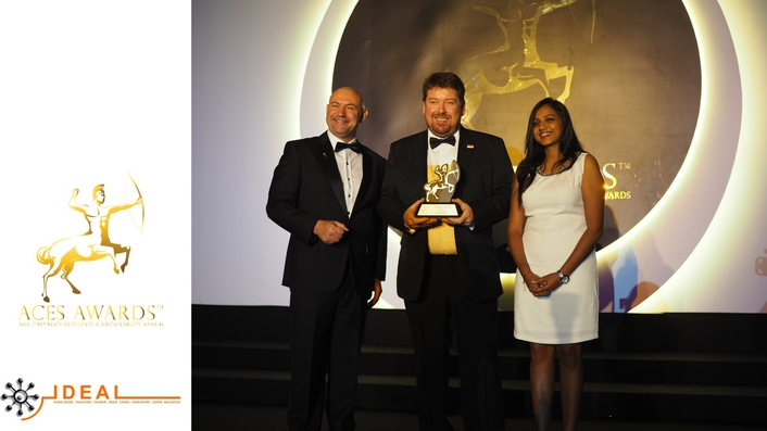 Ideal Systems Win Top SME in Asia Award
