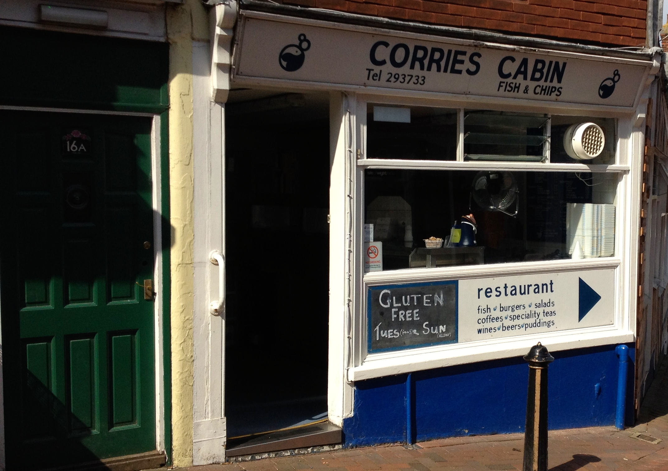 Corries Cabin, 17 Shooters Hill, Cowes, Isle of White