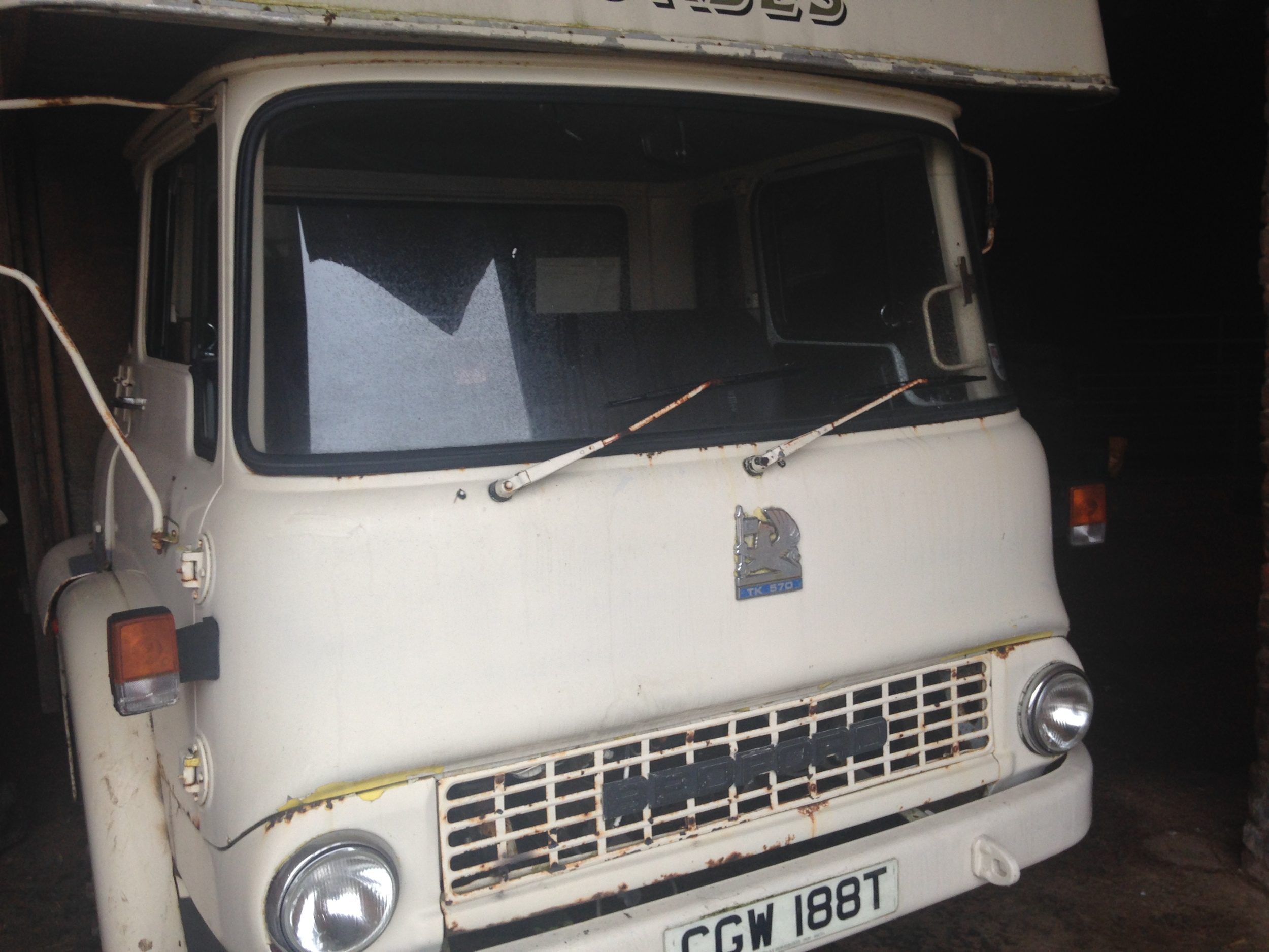 Seven Mile food truck - renovation - cab