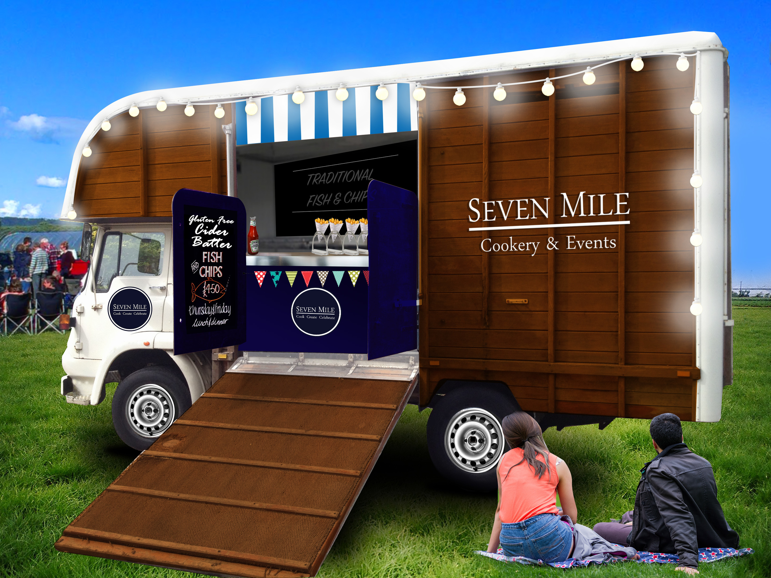 Seven Mile Food Truck - illustration2