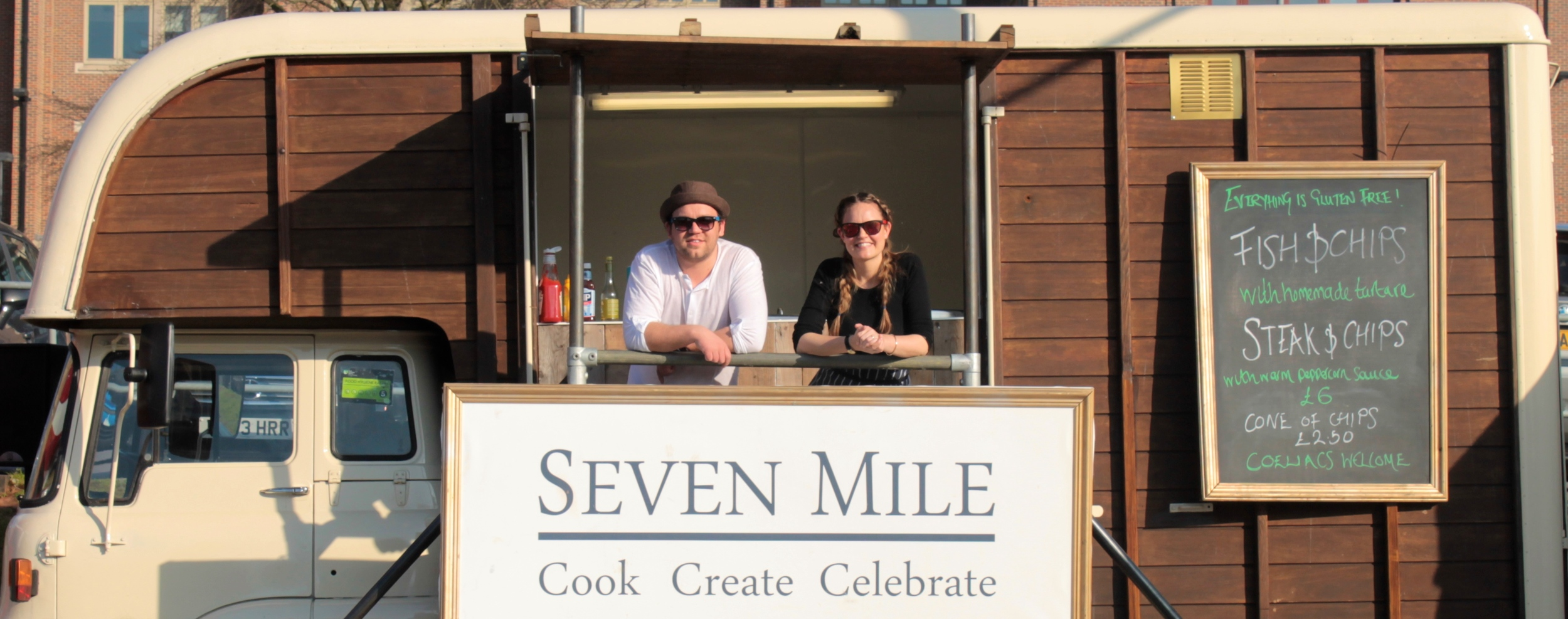 Seven Mile - Food Truck - Bodhi, Jake and Janine