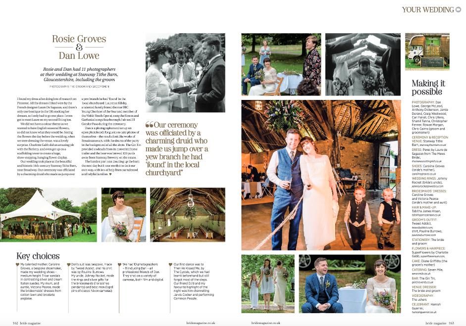 Seven Mile weddings - Rosie and Dan Lowe