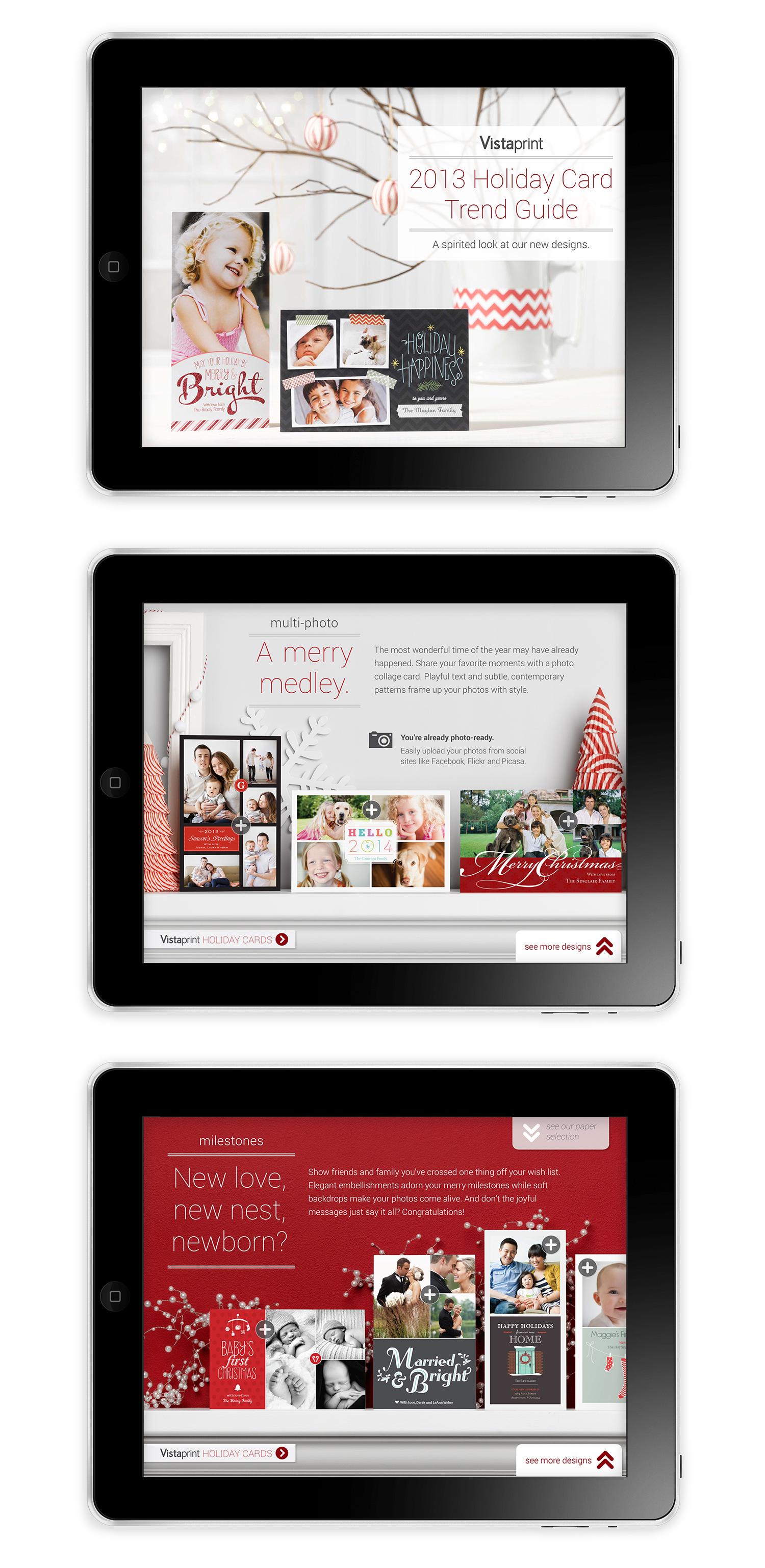 Holiday App | Developer: Luis Mendes, Art Director: Walter Waller, Designer: Lori Lepine, Copywriter: Jen Gibson