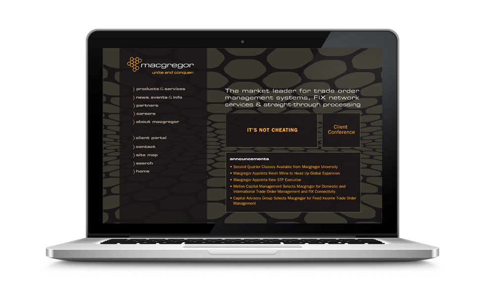 Macgregor Website Redesign | Designed with Ariel Broggi