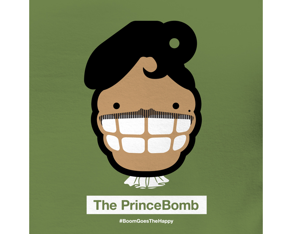 Day 6: The PrinceBomb   | Designed with Mark LaRosa