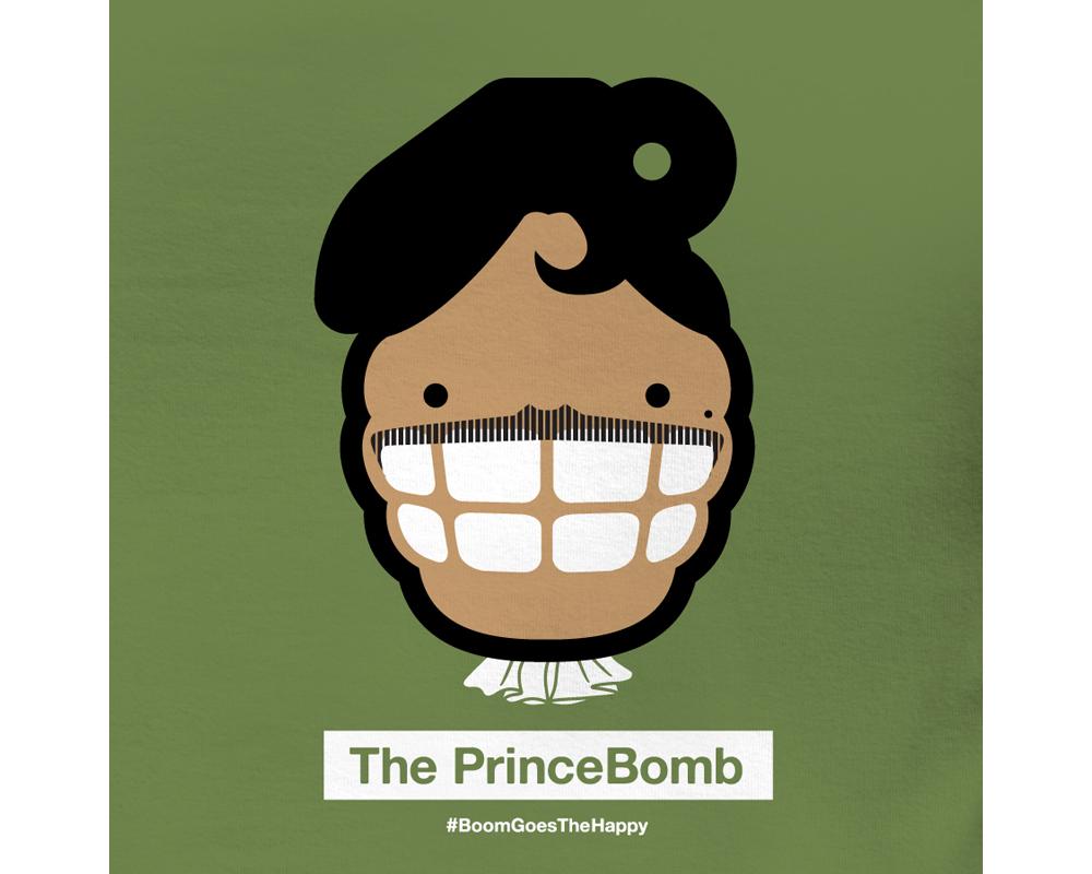 Day 6: The PrinceBomb | Designed with Mark LaRosa
