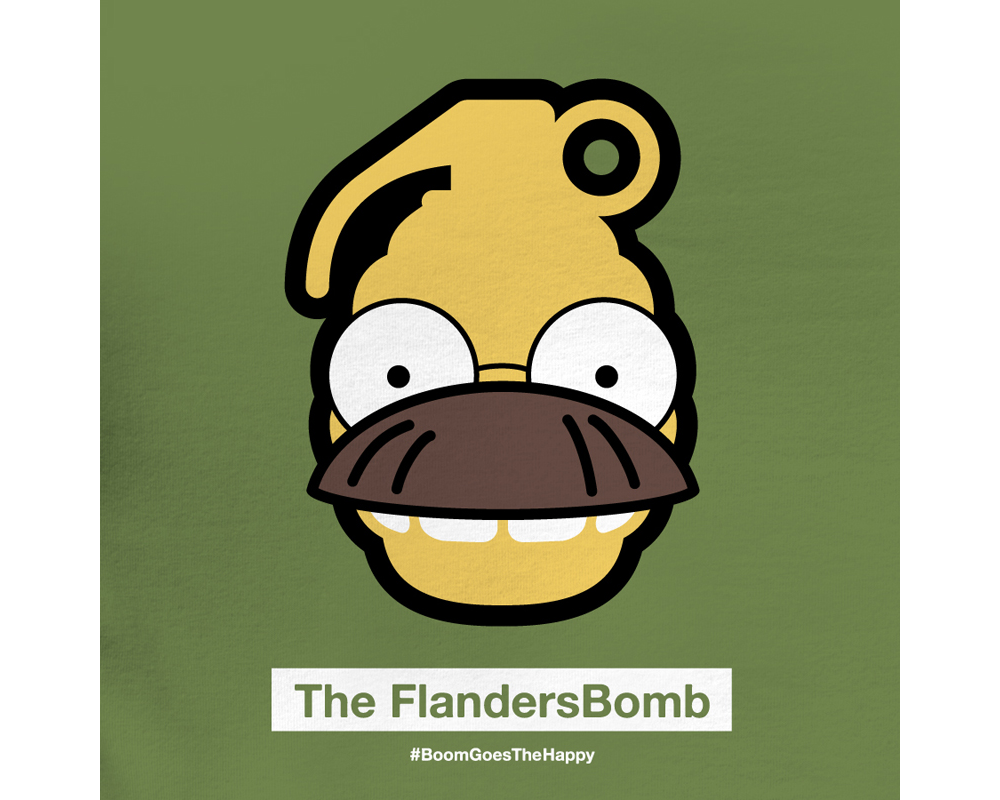 Day 19: The FlandersBomb | Designed with Phil Davis