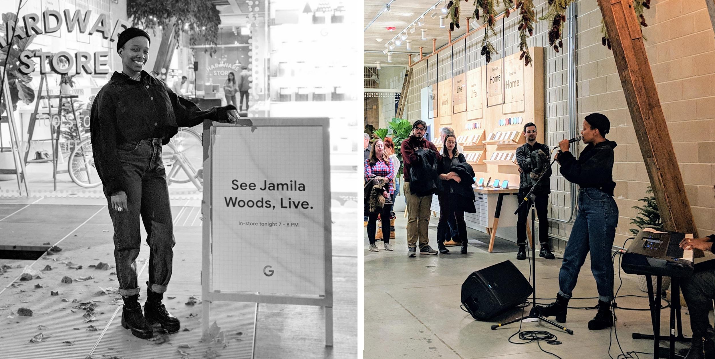 Jamila Woods Live in Bucktown
