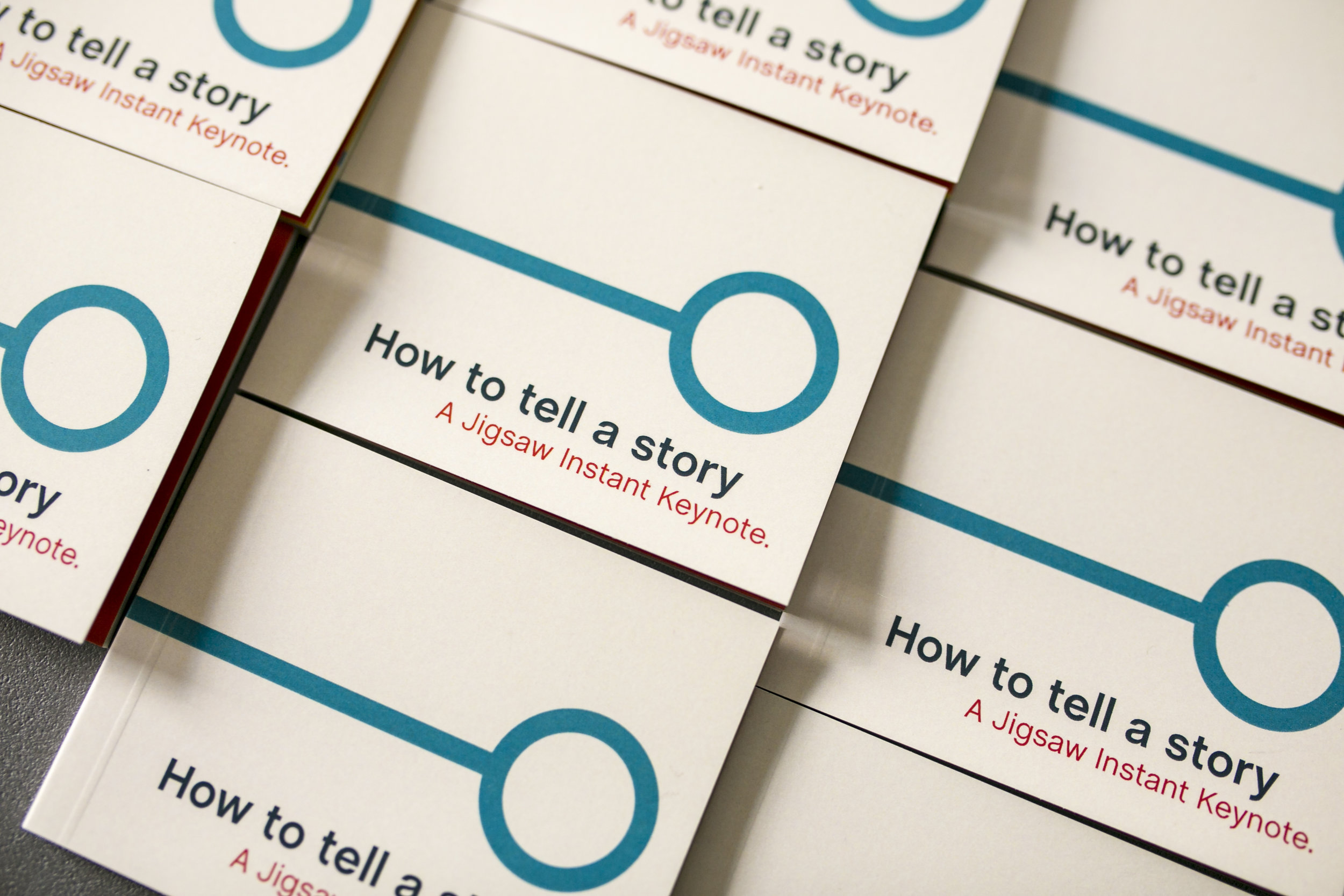 Minibook – How to tell a story