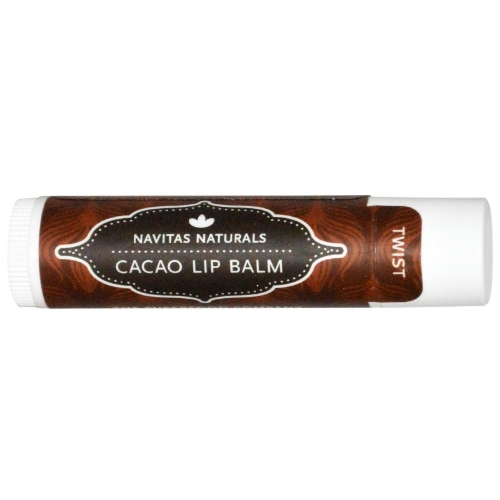 Navitas Naturals  Cacao Lip Balm - $3.99   This antioxidant-rich lip moisturizer made from pure, cold-pressed oils of the cacao bean leaves lips hydrated and buttery soft. This family-owned company is devoted to sustainable business practices and all of their products are organic and non-gmo verified.  Your lips will thank you .