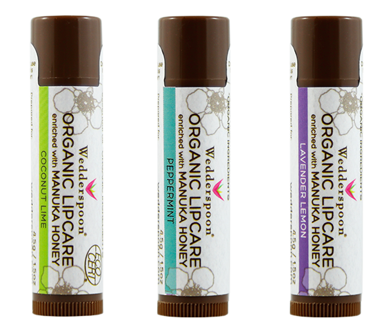 The Bee Smooth Lip Balm Trio contains all of Wedderspoon's lip balm flavors, and is arguably the most competitively-priced Manuka Honey-based set out there. These lip balms have the power to not only smooth the lips, but heal them completely from the harsh weather!