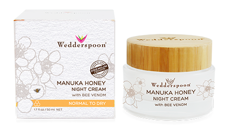 Wedderspoon's Manuka Honey Night Cream firms and brightens the face for an ageless look. The Manuka night cream will make your gift-recipient's face smoother and more wrinkle-free!