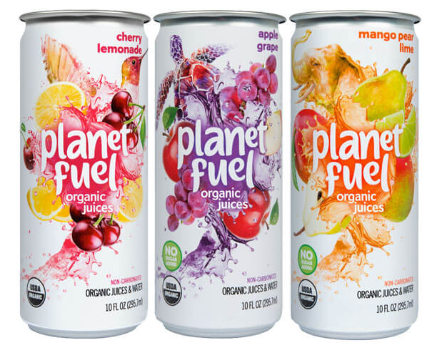 Sourced from certified organic and GMO-free domestic farms, Planet Fuel organic juice is made of the good stuff.  The brand is currently only available in the New Haven, CT area, but hopefully will spread to Philly soon!