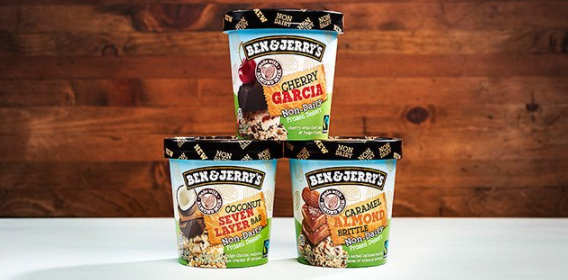Ben & Jerry's has finally launched their second line of vegan ice cream, now with seven flavors in total. The new release includes the classic Cherry Garcia as well as new flavors Coconut Seven Layer Bar and Caramel Almond Brittle! Find them at your local Wegman's, Whole Foods and many ShopRite stores!
