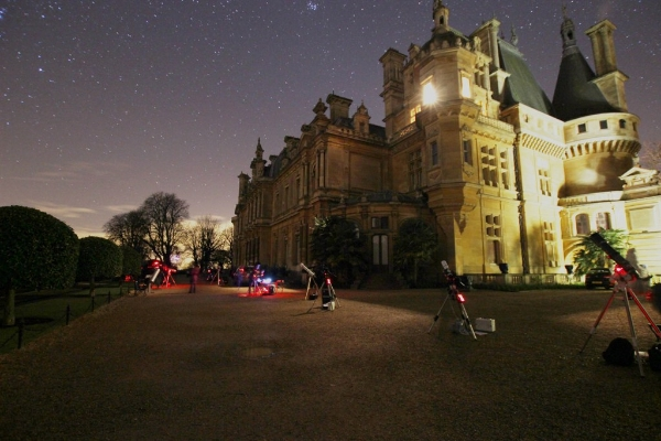 Stargazing at Waddesdon Manor