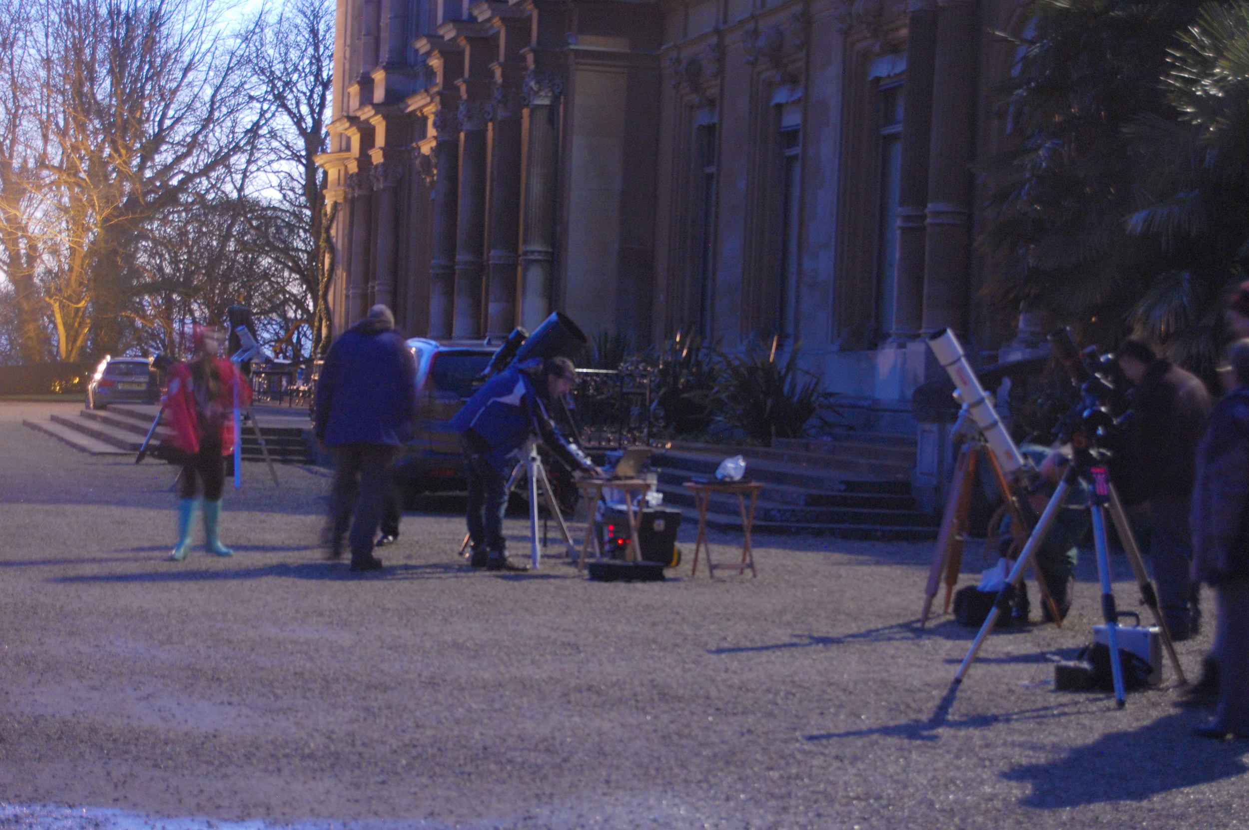 Waddesdon Set Up(Wycombe Astronomical Society Members)