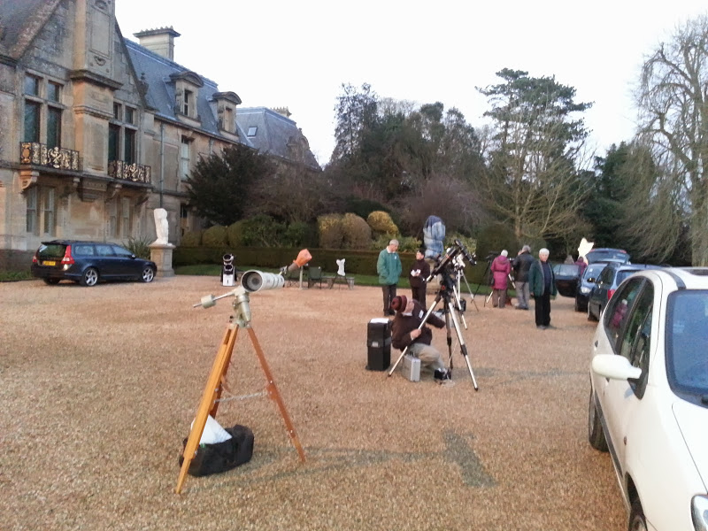 Setting Up 1st March 2014(Wycombe Astronomical Society Members)