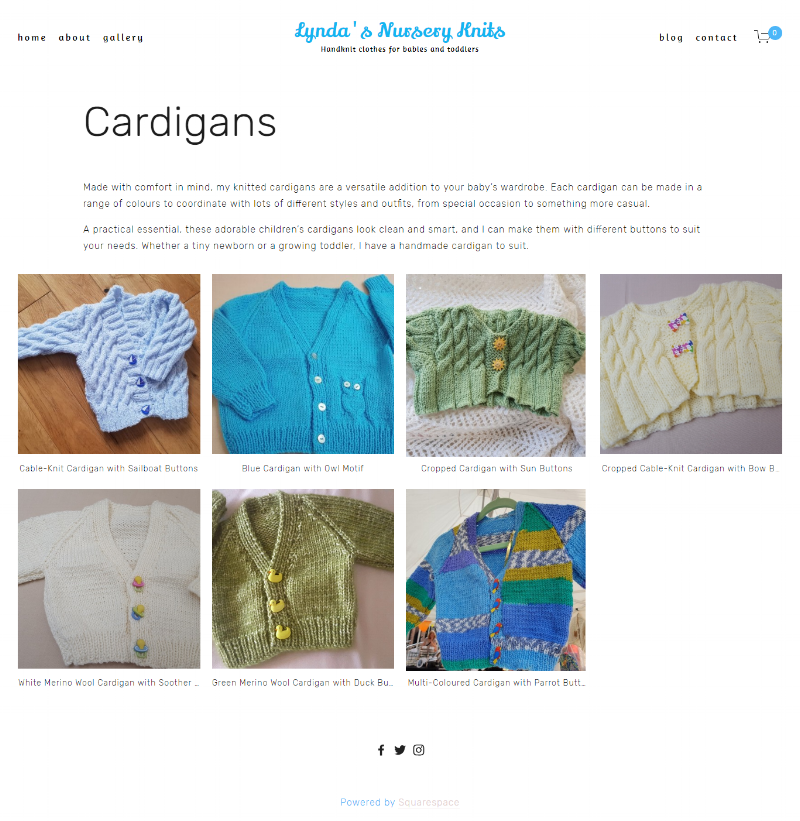 Cardigans Page -