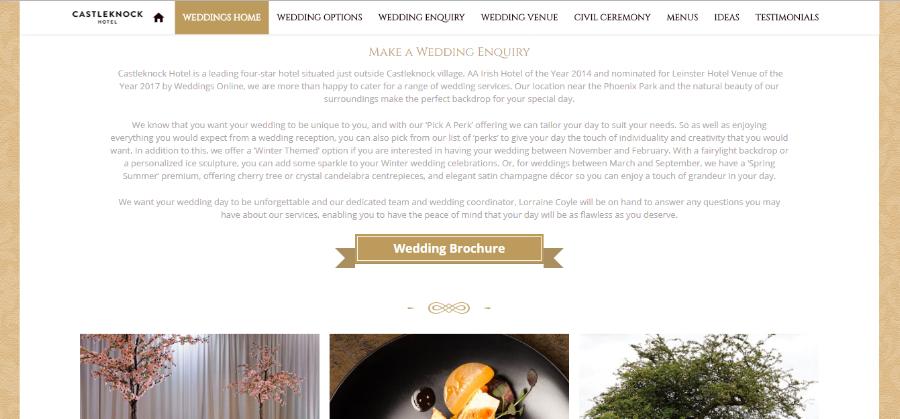Weddings Homepage -