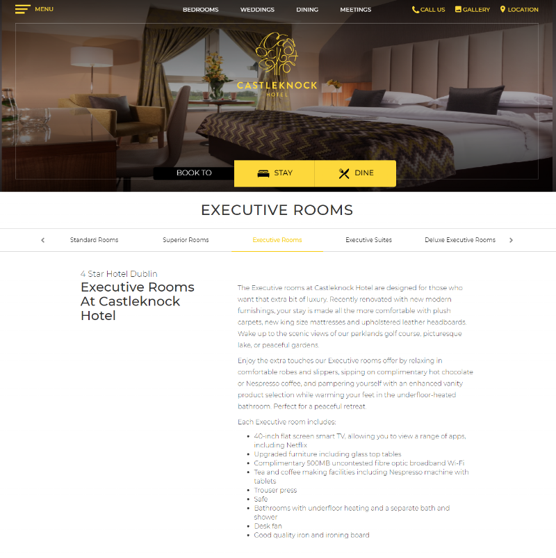 Executive Rooms -