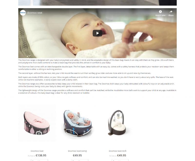 Baby Bean Bags (Doomoo Range) -