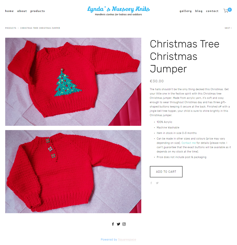Christmas Tree Christmas Jumper -