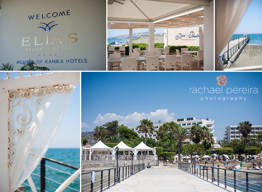 Elias Beach Cyprus Wedding