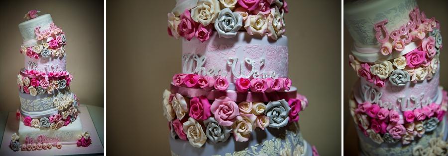 Great Hall at Mains Wedding Cake Photography