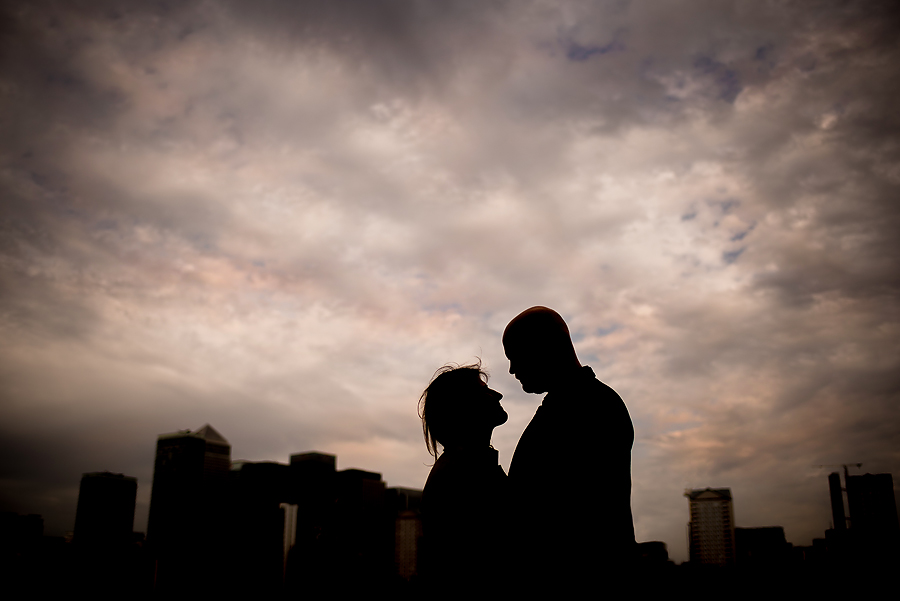 London Engagement Photography in Surrey Docks