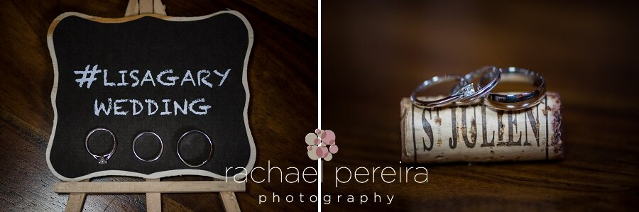 How sweet are these minature chalk boards?  The couple also had them on each table as the name sign.  Such a great idea.