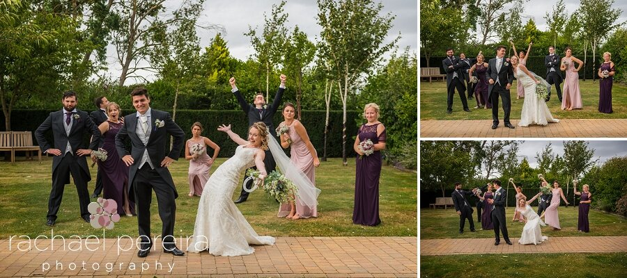 We had so much fun with this bridal party.  It was great seeing them show their personalities and having a laugh in their photos.
