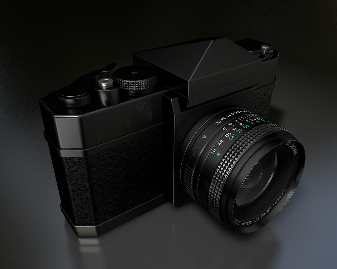 Canon F1 Study