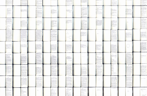 White, 2011, Book of 180 pages, Handwritten in New York, Nov, 2011.